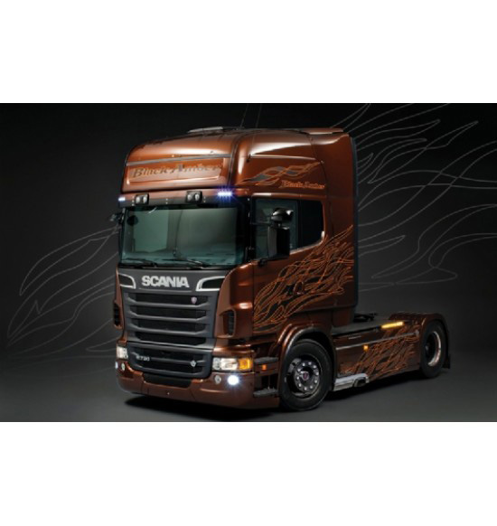 SCANIA R730 ''BLACK AMBER'' scala 1:24