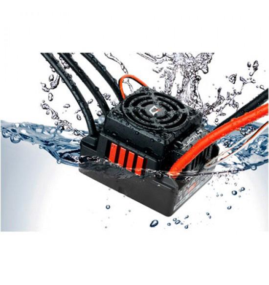 QUICRUN WP-8BL150 150/950A. Waterproof 2-6S regolatore elettronico sensorless 1/8 30109000