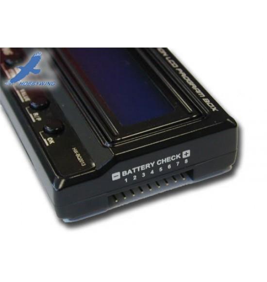 Hobbywing Multifunction LCD Program Card USB x regolatori EZRUN e XERUN