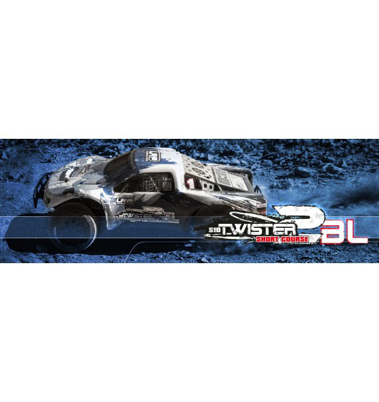 S10 TWISTER 2 SC-TRUCK BRUSHLESS 2.4GHZ RTR - 1/10 ELECTRIC 2WD SC TRUCK