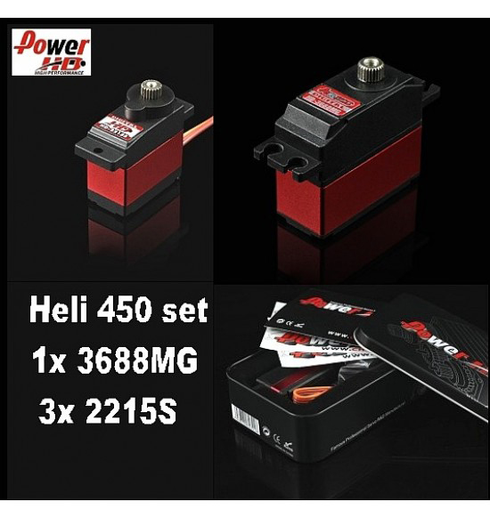 hely set power HD digital 450