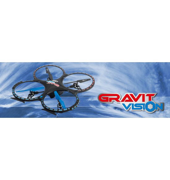 GRAVIT VISION QUADROCOPTER 2.4 GHZ MIT HD-CAMERA MODE 2