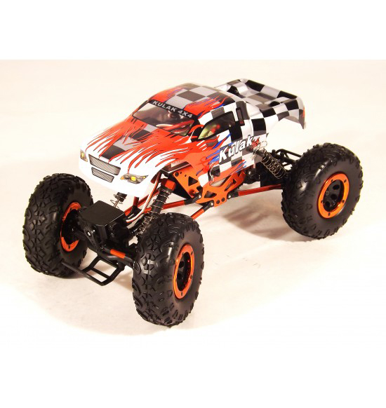 1-18 auto elettrica Crawler 4wd