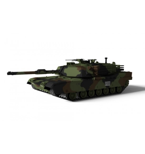 US MBT MA1A ABRAMS CAMUFLAGE 1-72
