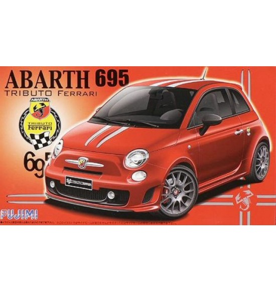 kit 1-24 FIAT Abarth Ferrari 695