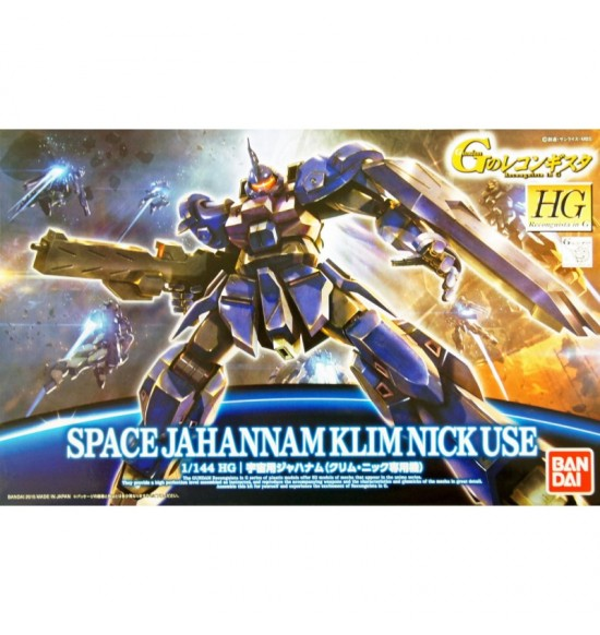 SPACE JAHANNAM KLIM NICK USE 1/144