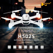 Quadricottero Hubsan x4 50s con gps