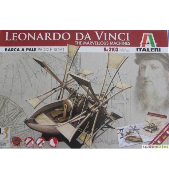 Barca a pale Leonardo Da Vinci