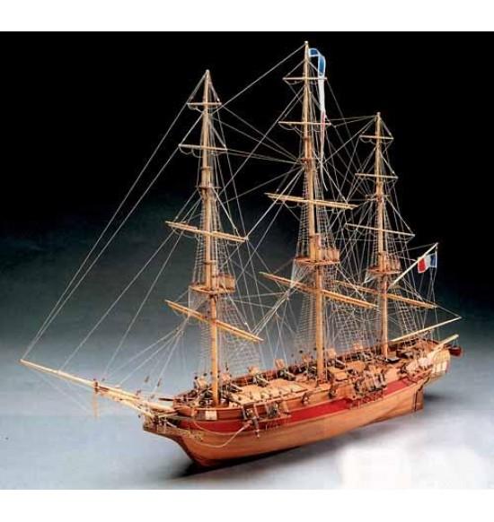 Astrolabe nave in legno