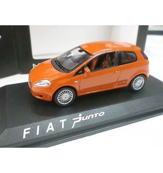 Fiat Grande Punto 3p Orange 2005 1/43