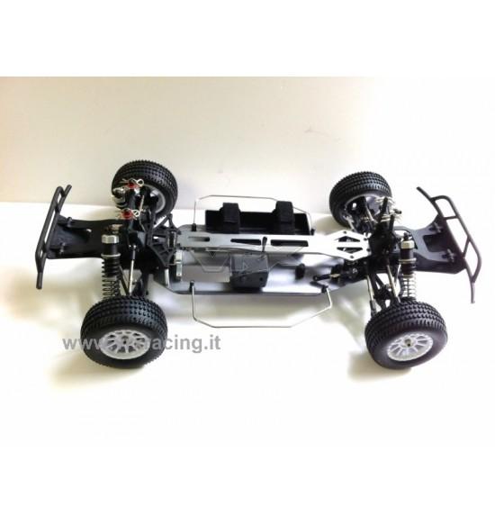 Modello (con telaio in metallo) Short course truck DT5 EBD meccanica completa 1/10 VRX