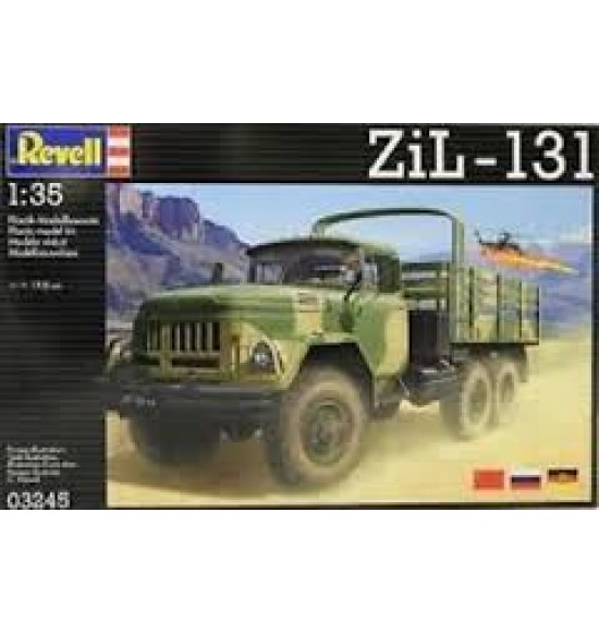Kit Montaggio Revell 1:35 - ZIL-131 6x6 Truck