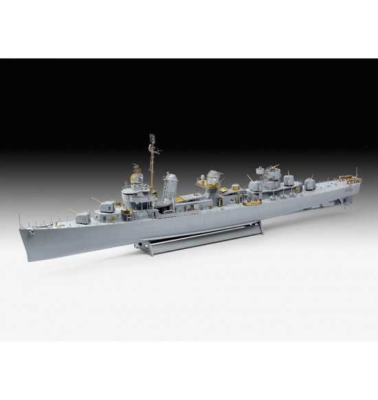 1-144 FLETCHER CLASS DESTROYER ltd edition ( Platinum edition)