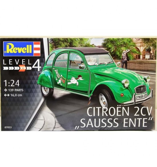 1-24 Model Set Citroen 2Cv Revell