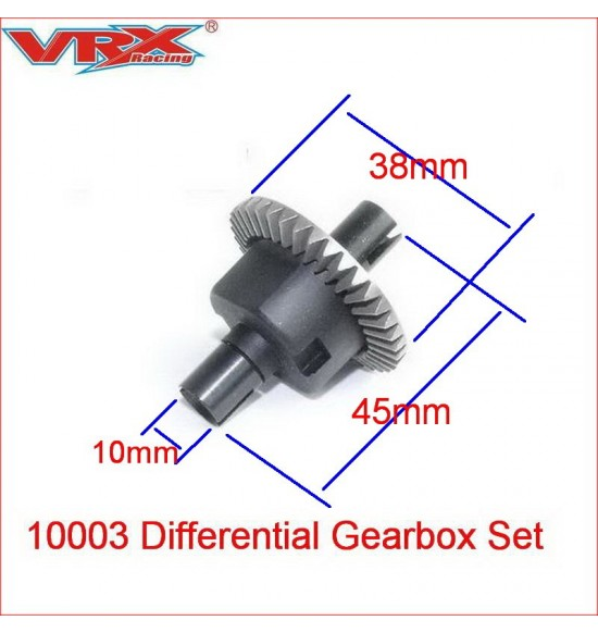 Differenziale completo ant-post vrx 1-10 offroad