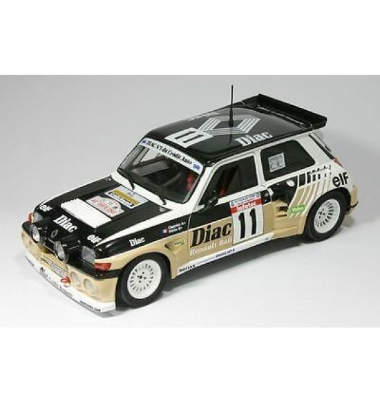 1:18 Renault 5 Maxi Turbo - Chatriot - Rallye Tour de Corse 1986 - Solido 118023