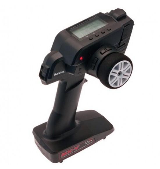 RADIO SANWA CAR MX-V 2,4G 3 CH waterproff
