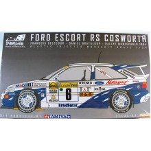 Kit 1-24 Ford Escort RS Cosworth Limited Edition Francois Delecour Daniel Grataloup + decal Cunico San Remo