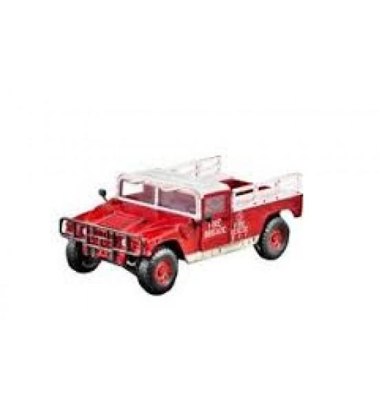 Fire Dept. Cargo Truck My First Model Kit scala 1 : 35
