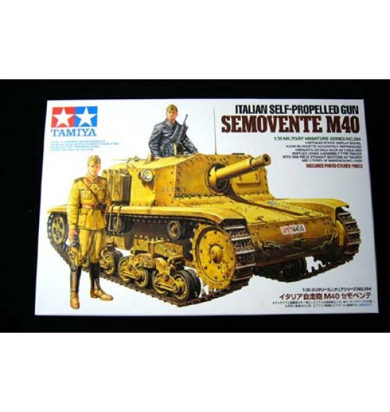 1-35 Semovente italiano M40 Self-propelled Gun