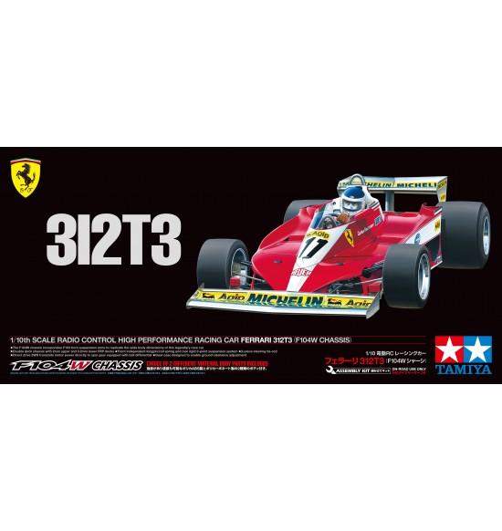 RC Ferrari 312T3 Telaio F104 limited edition