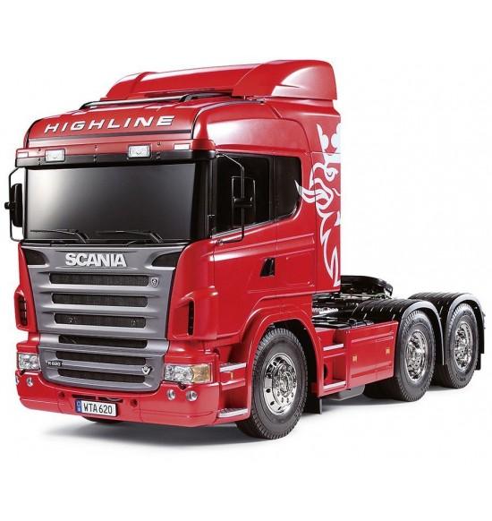 Tamiya Scania r620 6x4 Camion