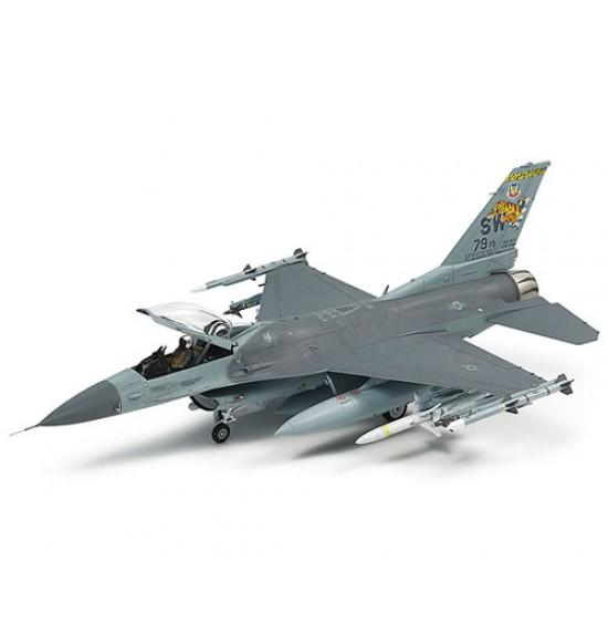 Aereo F16CJ equipaggiamento completo 1-72