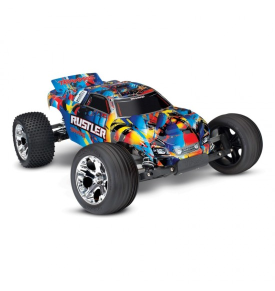 Traxxas Rustler 2wd brushed xl5