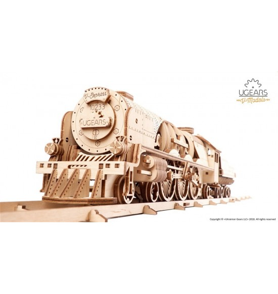 Locomotiva V-express ugears