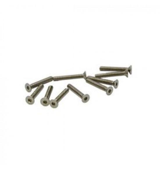 M2x16mm Viti Testa Piatta (10 pz)