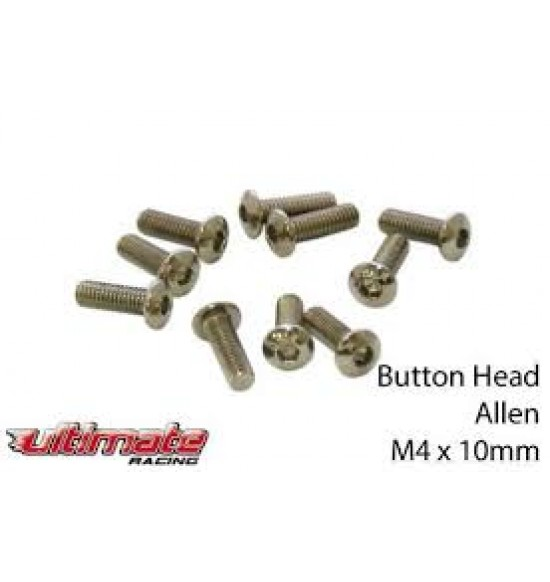 M4x10mm Viti a Bottone (10pz)