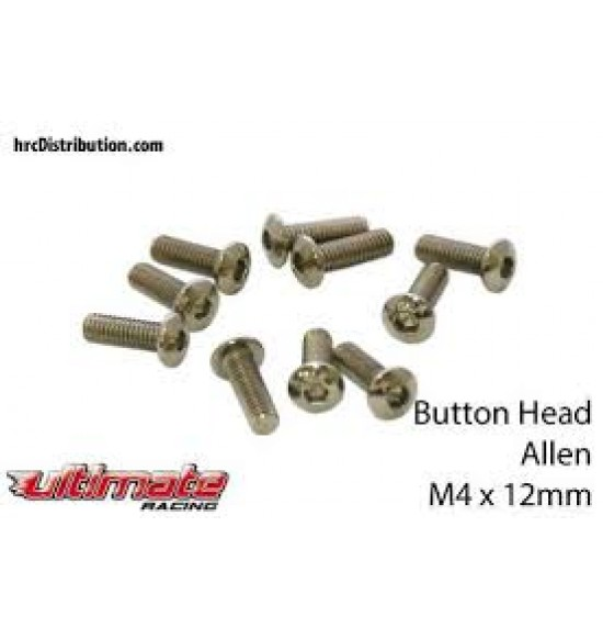 M4x12mm Viti a Bottone (10pz)
