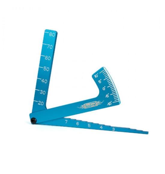 3 in 1 blu: misura altezza da terra, camber e altezza alla ruota