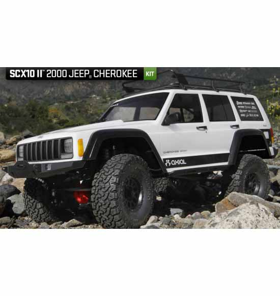 SCX10 II 2000 Jeep Cherokee