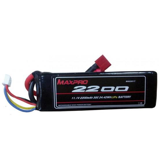Batteria Lipo 30c 11,1v 2250Mah 3s