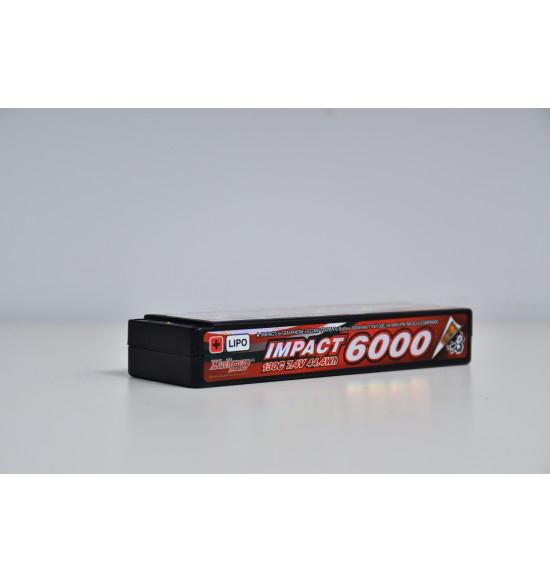 Batteria lipo 6000 muchmore silicon graphene 7,4 130c