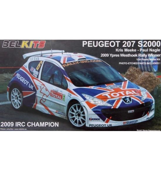 1-24 auto Peugeot 207 S2000