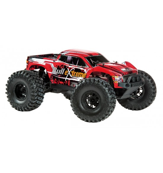 Monster BullExtreme 1-10 rtr Rosso