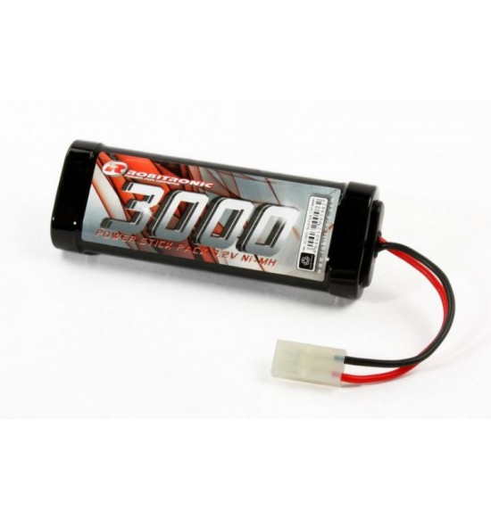 Robitronic Batteria 7,2V 3000mAh NiMH Stick Pack