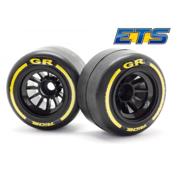 Ride gomme posteriori F1