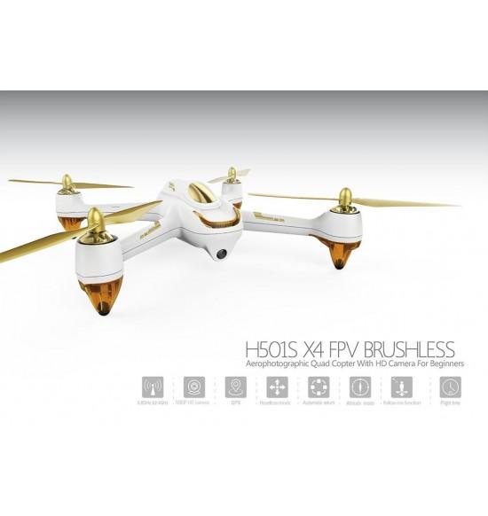 Drone Hubsan 501s x4 fpv-gps