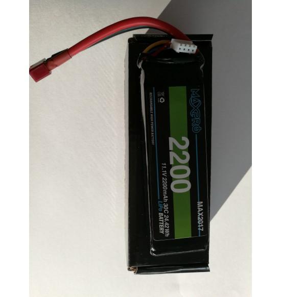 Batteria Lipo 30c 11,1v 2200Mah 3s