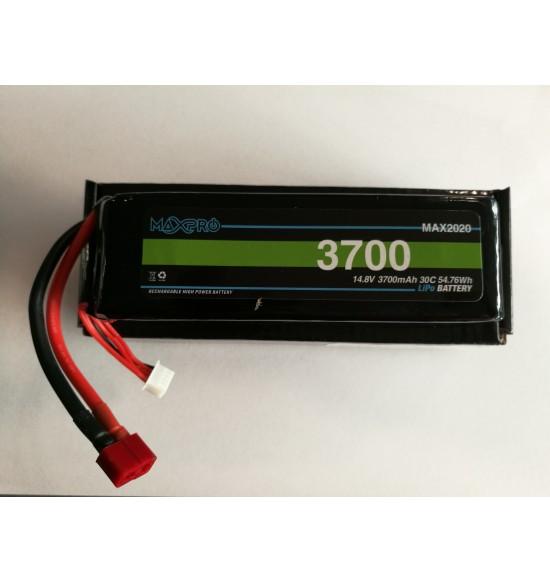 Batteria lipo 30c 14,8v 3700Mah 4s