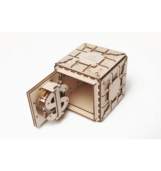 Cassaforte Puzzle 3D Meccanico Ugears