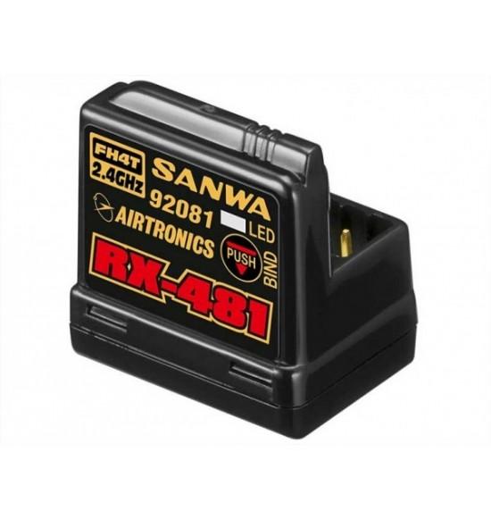 SANWA RX CAR 481 FH3/4 4CH