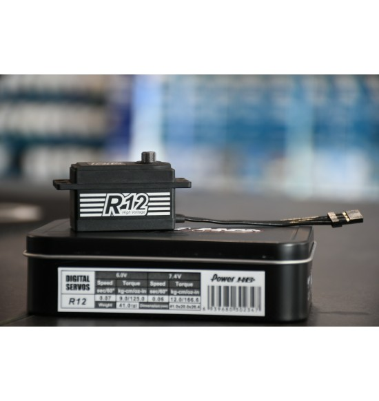 HDpower R12 low-profile servo digitale
