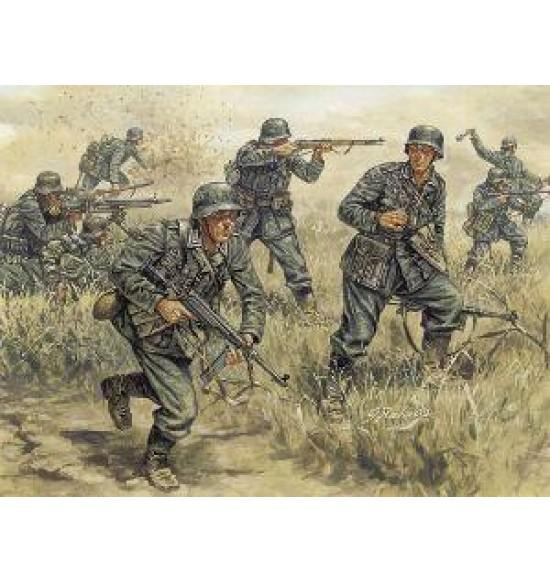 Miniatures 1:72 (Soldiers) / 6033 - GERMAN INFANTRY 1/72