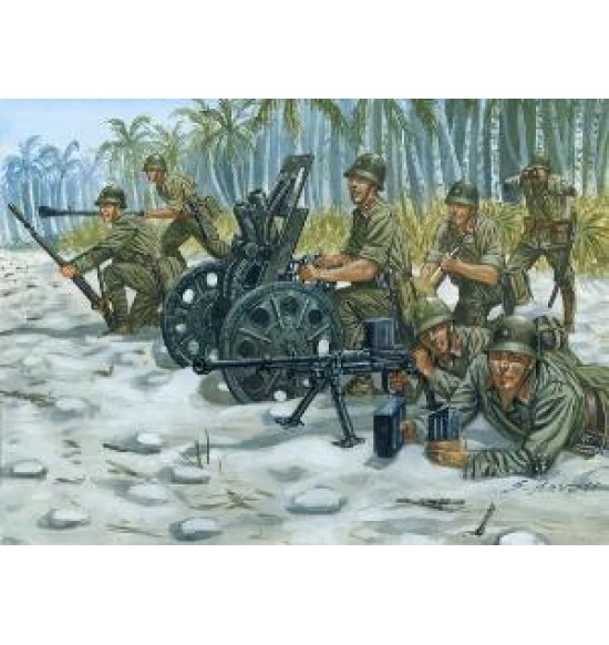 WWII: JAPANESE M92 Light Howitzer and AT Team