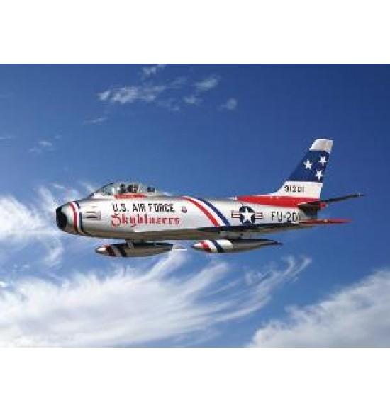 "F-86F SABRE JET ""SKYBLAZERS"""