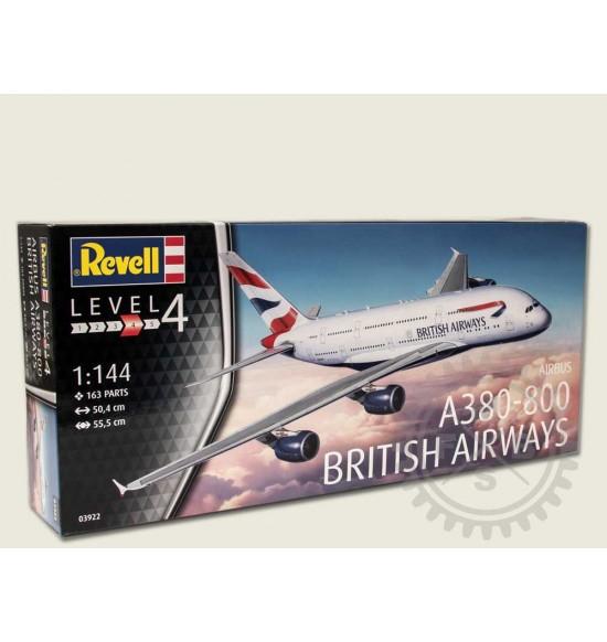 1-44 A380-800  BRITISH AIRWAYS MODEL KIT